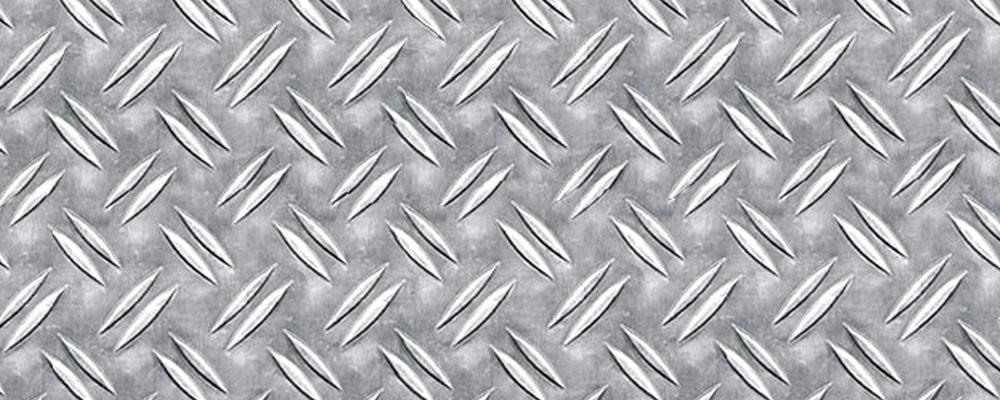 Рифленый алюминиевый лист: применение, производство, сплавы